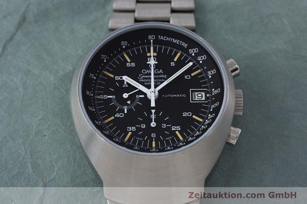 Used luxury watch Omega Speedmaster chronograph steel automatic Kal. 1040  | 152949 15