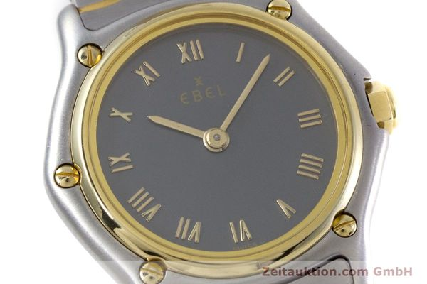 Used luxury watch Ebel Classic Wave steel / gold quartz Kal. 057 Ref. 1057901  | 152951 02
