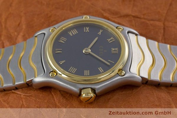 Used luxury watch Ebel Classic Wave steel / gold quartz Kal. 057 Ref. 1057901  | 152951 05