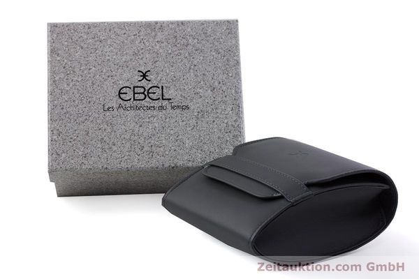 Used luxury watch Ebel Classic Wave steel / gold quartz Kal. 057 Ref. 1057901  | 152951 06