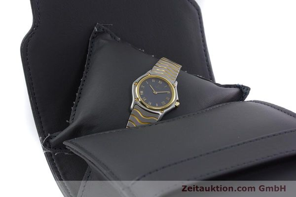 Used luxury watch Ebel Classic Wave steel / gold quartz Kal. 057 Ref. 1057901  | 152951 07