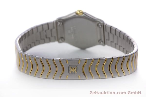 Used luxury watch Ebel Classic Wave steel / gold quartz Kal. 057 Ref. 1057901  | 152951 11