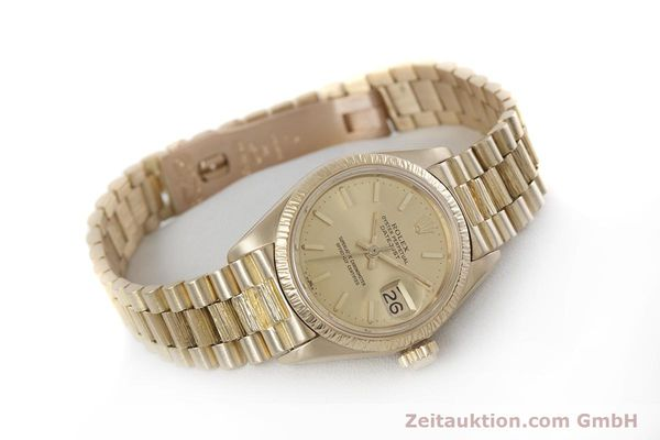 Used luxury watch Rolex Lady Datejust 18 ct gold automatic Kal. 2030 Ref. 6927  | 152952 03