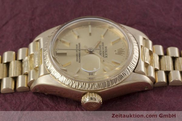 Used luxury watch Rolex Lady Datejust 18 ct gold automatic Kal. 2030 Ref. 6927  | 152952 05