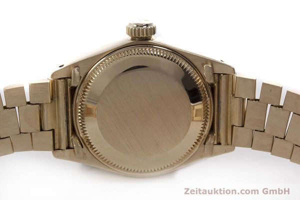 Used luxury watch Rolex Lady Datejust 18 ct gold automatic Kal. 2030 Ref. 6927  | 152952 08