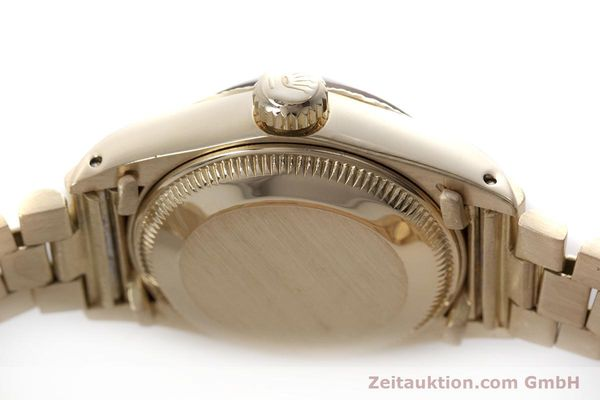 Used luxury watch Rolex Lady Datejust 18 ct gold automatic Kal. 2030 Ref. 6927  | 152952 11