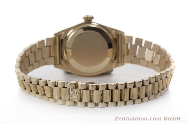 Used luxury watch Rolex Lady Datejust 18 ct gold automatic Kal. 2030 Ref. 6927  | 152952 12