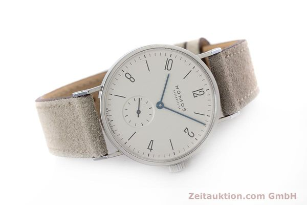 Used luxury watch Nomos Tangente steel manual winding Kal. ETA 7001  | 152955 03