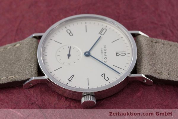 Used luxury watch Nomos Tangente steel manual winding Kal. ETA 7001  | 152955 05