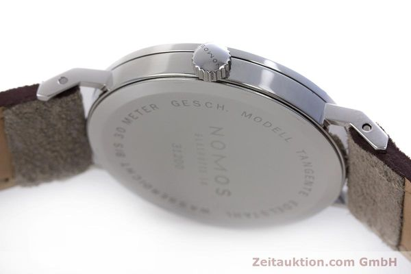 Used luxury watch Nomos Tangente steel manual winding Kal. ETA 7001  | 152955 08