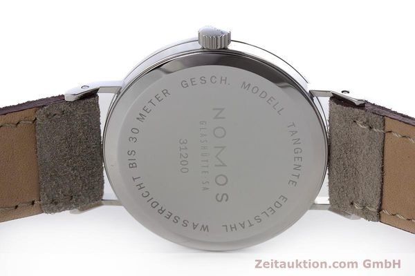 Used luxury watch Nomos Tangente steel manual winding Kal. ETA 7001  | 152955 09