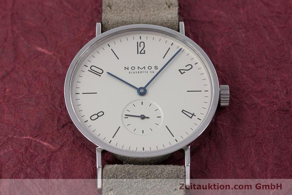 Used luxury watch Nomos Tangente steel manual winding Kal. ETA 7001  | 152955 16