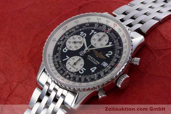 Used luxury watch Breitling Navitimer chronograph steel automatic Kal. B13 ETA 7750 Ref. A13322  | 152977 01