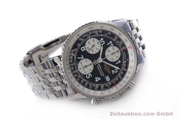 Used luxury watch Breitling Navitimer chronograph steel automatic Kal. B13 ETA 7750 Ref. A13322  | 152977 03