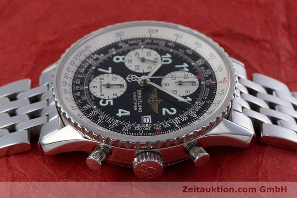 Used luxury watch Breitling Navitimer chronograph steel automatic Kal. B13 ETA 7750 Ref. A13322  | 152977 05