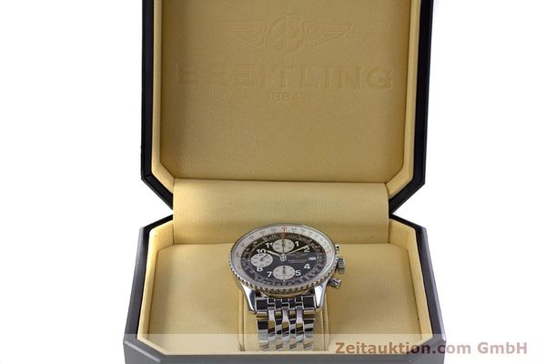 Used luxury watch Breitling Navitimer chronograph steel automatic Kal. B13 ETA 7750 Ref. A13322  | 152977 07