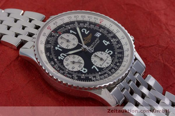 Used luxury watch Breitling Navitimer chronograph steel automatic Kal. B13 ETA 7750 Ref. A13322  | 152977 16