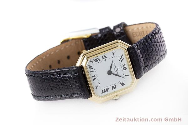Used luxury watch Baume & Mercier * 18 ct gold manual winding Kal. BM550 Ref. 38259  | 152980 03