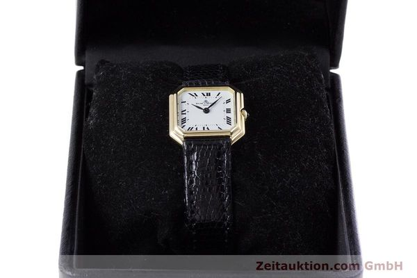 Used luxury watch Baume & Mercier * 18 ct gold manual winding Kal. BM550 Ref. 38259  | 152980 07