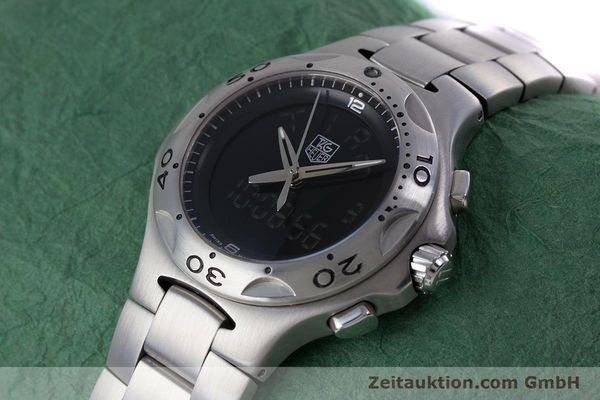 Used luxury watch Tag Heuer Kirium chronograph steel quartz Kal. ETA E20.321 Ref. CL111A  | 152982 01