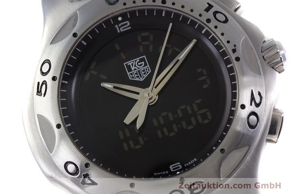 Used luxury watch Tag Heuer Kirium chronograph steel quartz Kal. ETA E20.321 Ref. CL111A  | 152982 02