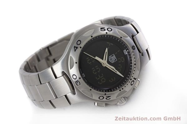 Used luxury watch Tag Heuer Kirium chronograph steel quartz Kal. ETA E20.321 Ref. CL111A  | 152982 03