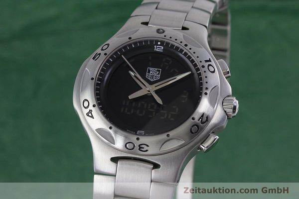 Used luxury watch Tag Heuer Kirium chronograph steel quartz Kal. ETA E20.321 Ref. CL111A  | 152982 04