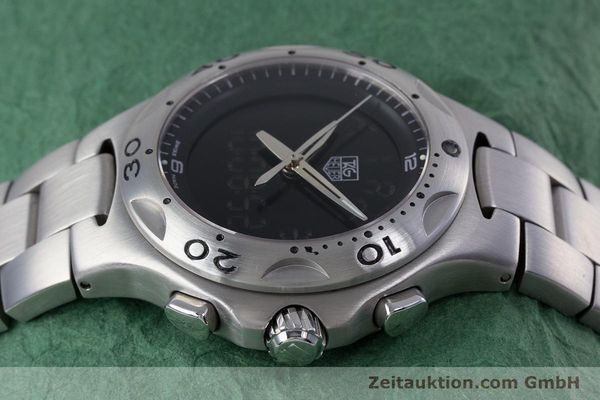 Used luxury watch Tag Heuer Kirium chronograph steel quartz Kal. ETA E20.321 Ref. CL111A  | 152982 05