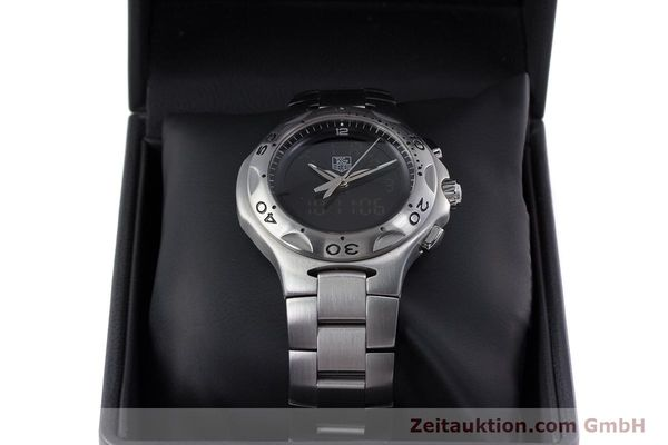 Used luxury watch Tag Heuer Kirium chronograph steel quartz Kal. ETA E20.321 Ref. CL111A  | 152982 07