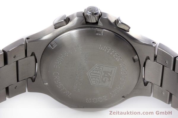 Used luxury watch Tag Heuer Kirium chronograph steel quartz Kal. ETA E20.321 Ref. CL111A  | 152982 09