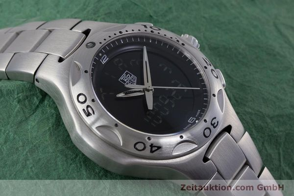 Used luxury watch Tag Heuer Kirium chronograph steel quartz Kal. ETA E20.321 Ref. CL111A  | 152982 14