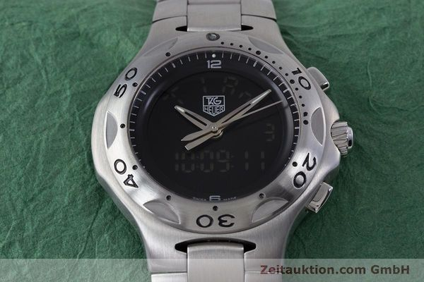 Used luxury watch Tag Heuer Kirium chronograph steel quartz Kal. ETA E20.321 Ref. CL111A  | 152982 15