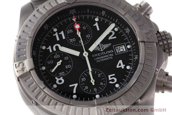 Used luxury watch Breitling Avenger chronograph titanium automatic Kal. B13 ETA 7750 Ref. E13360  | 152983 02