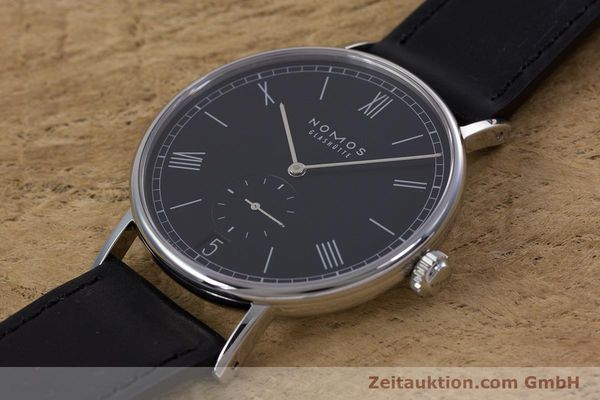 Used luxury watch Nomos Ludwig steel automatic Kal. Zeta  Ref. 6477  | 152985 01