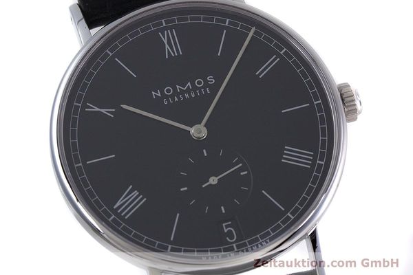 Used luxury watch Nomos Ludwig steel automatic Kal. Zeta  Ref. 6477  | 152985 02