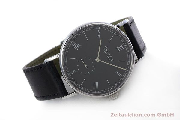 Used luxury watch Nomos Ludwig steel automatic Kal. Zeta  Ref. 6477  | 152985 03