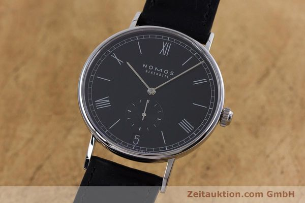 Used luxury watch Nomos Ludwig steel automatic Kal. Zeta  Ref. 6477  | 152985 04