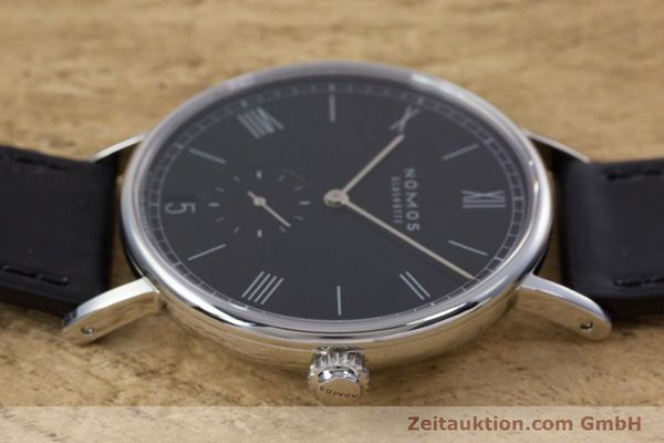 Used luxury watch Nomos Ludwig steel automatic Kal. Zeta  Ref. 6477  | 152985 05