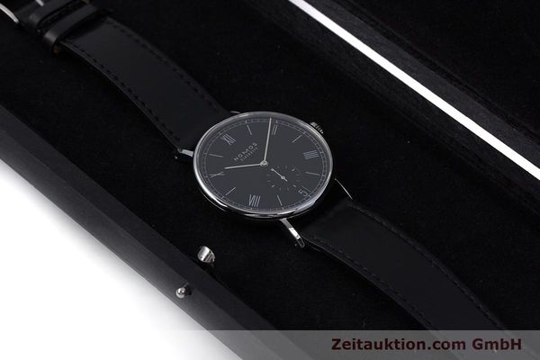 Used luxury watch Nomos Ludwig steel automatic Kal. Zeta  Ref. 6477  | 152985 07