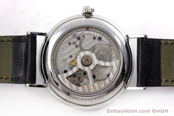 Used luxury watch Nomos Ludwig steel automatic Kal. Zeta  Ref. 6477  | 152985 09
