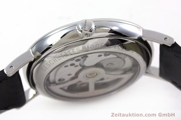 Used luxury watch Nomos Ludwig steel automatic Kal. Zeta  Ref. 6477  | 152985 10