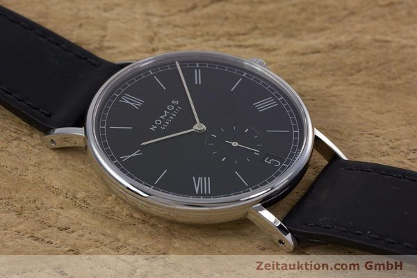 Used luxury watch Nomos Ludwig steel automatic Kal. Zeta  Ref. 6477  | 152985 15