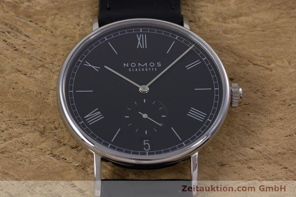 Used luxury watch Nomos Ludwig steel automatic Kal. Zeta  Ref. 6477  | 152985 16