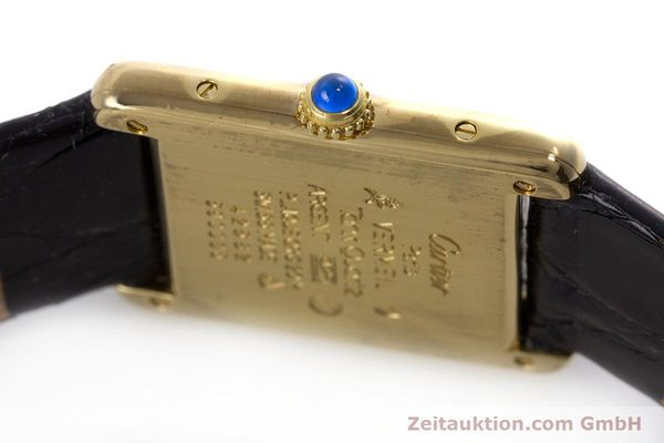Used luxury watch Cartier Tank silver-gilt quartz Kal. 90  | 152992 08