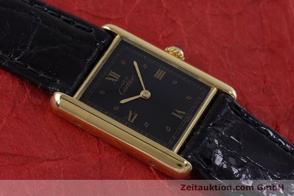 Used luxury watch Cartier Tank silver-gilt quartz Kal. 90  | 152992 11