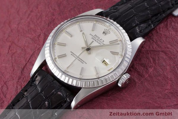 Used luxury watch Rolex Datejust steel automatic Kal. 1570 Ref. 1603  | 152999 01