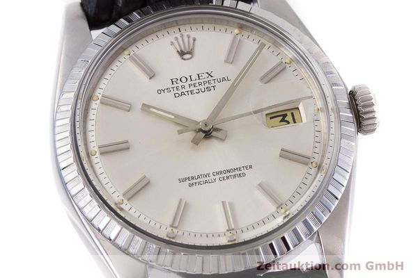 Used luxury watch Rolex Datejust steel automatic Kal. 1570 Ref. 1603  | 152999 02