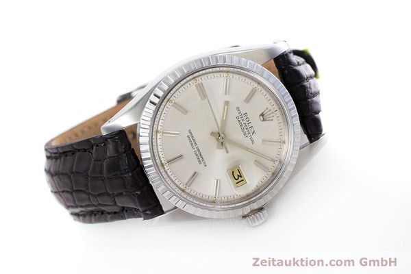 Used luxury watch Rolex Datejust steel automatic Kal. 1570 Ref. 1603  | 152999 03