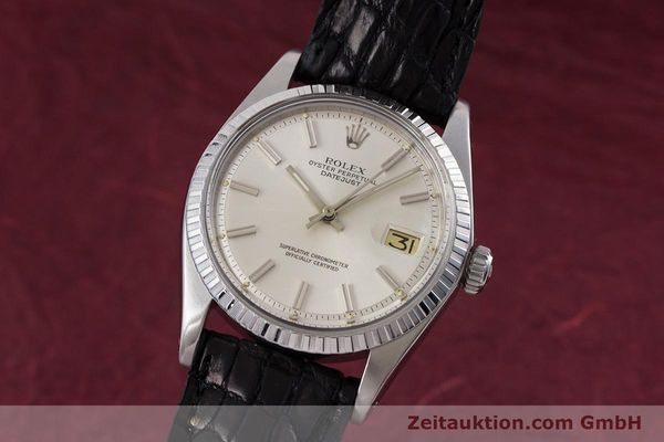Used luxury watch Rolex Datejust steel automatic Kal. 1570 Ref. 1603  | 152999 04