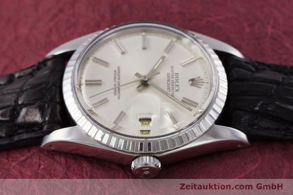 Used luxury watch Rolex Datejust steel automatic Kal. 1570 Ref. 1603  | 152999 05